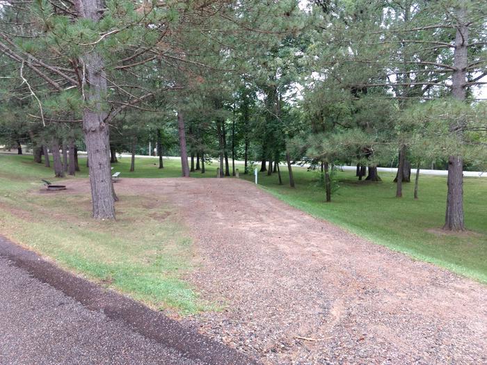 Sandy Lake - Campsite 34Sandy Lake Site 34