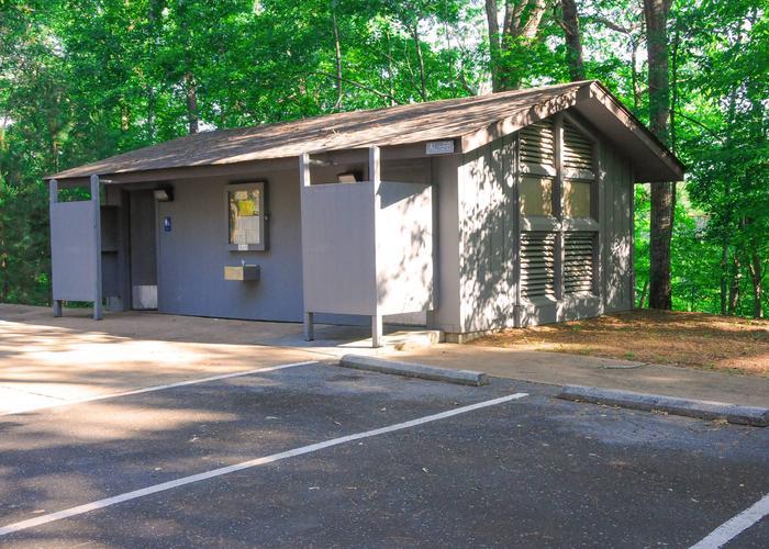 Upper Stamp Creek Bath HouseUpper Stamp Creek Campground Bath House.