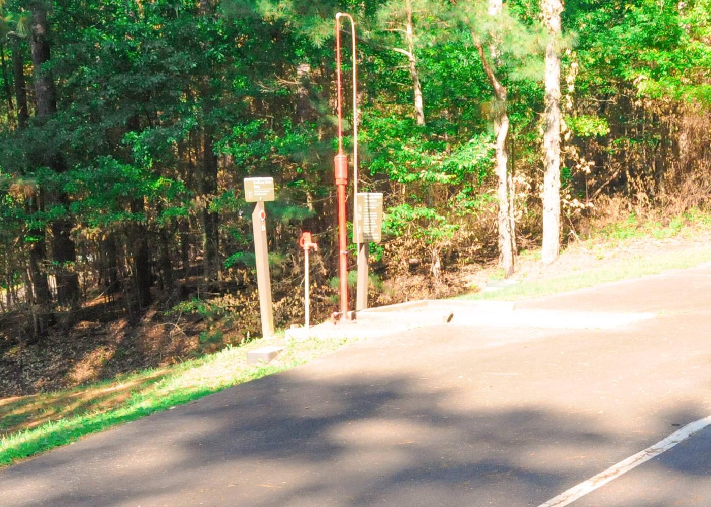 Upper Stamp Creek Dump Station-2Upper Stamp Creek Campground Dump Station.