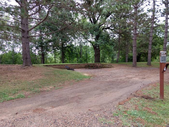 Sandy Lake - Campsite 38Sandy Lake Site 38