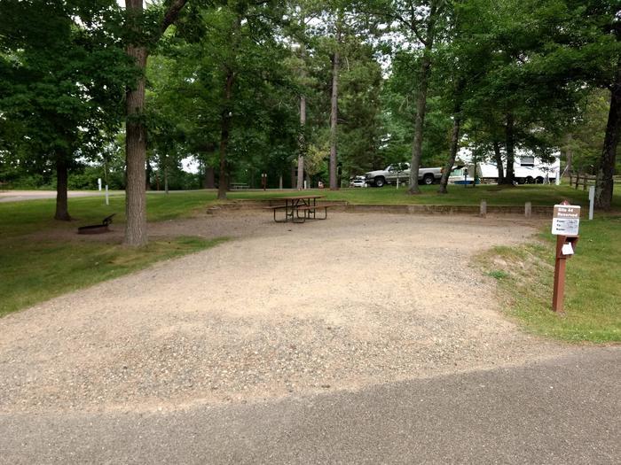 Sandy Lake - Campsite 44Sandy Lake Site 44