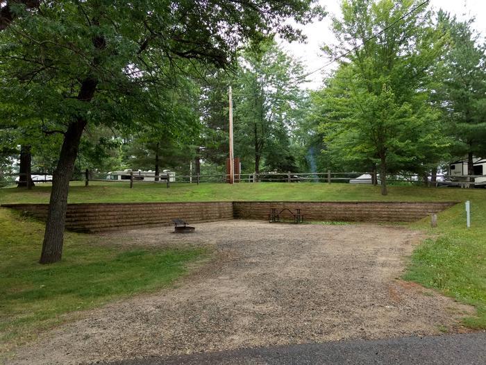 Sandy Lake - Campsite 48Sandy Lake Site 48