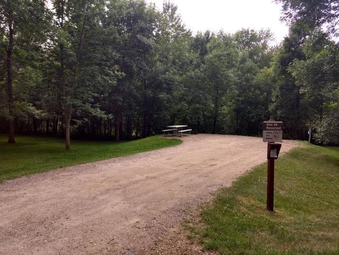 Sandy Lake - Campsite 49Sandy Lake Site 49
