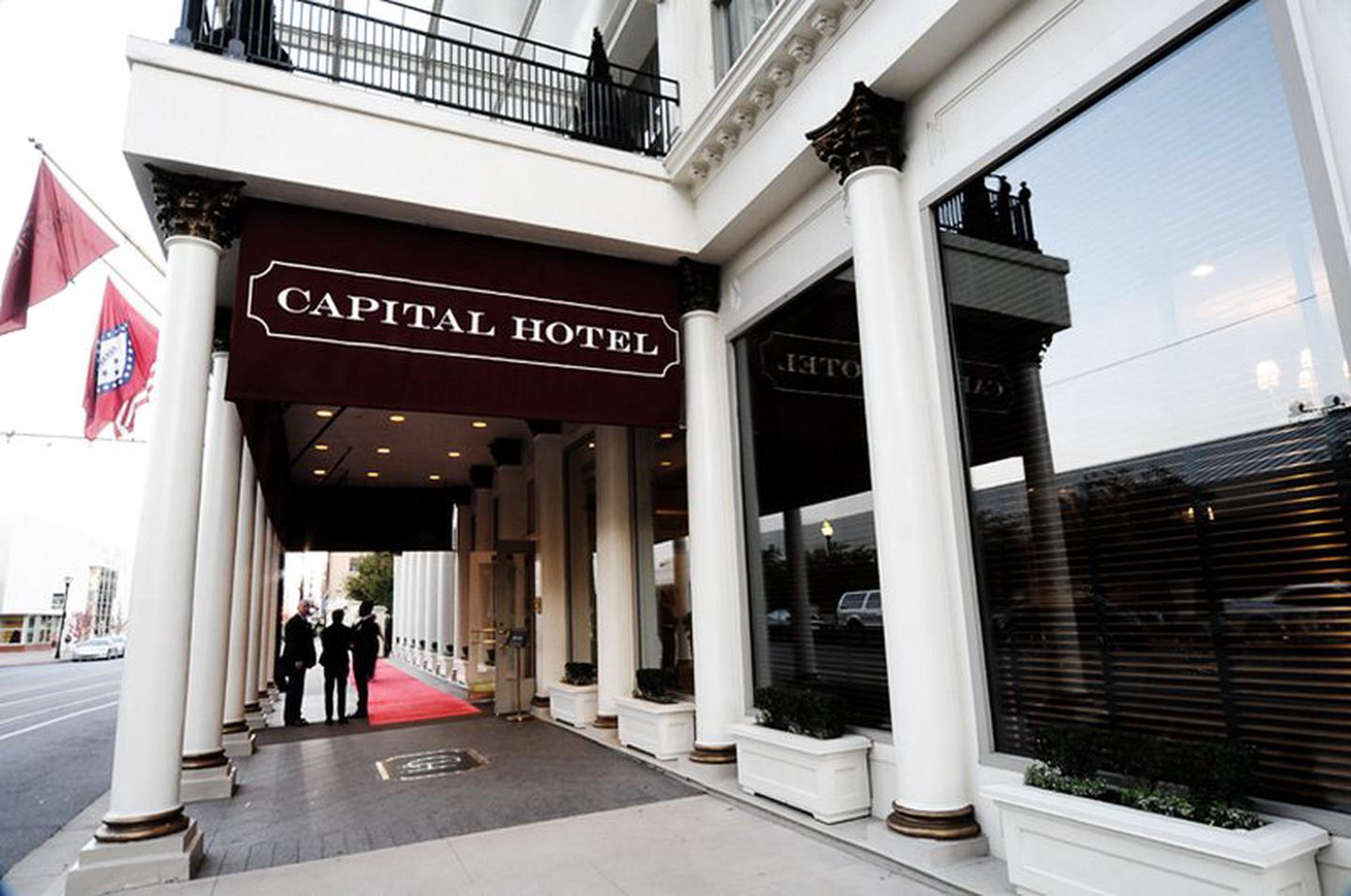 Capital HotelThe landmark hotel in Little Rock hosted many political and historic personages, including President Ulysses S. Grant. In fact, legend says that the Capital's unusually large elevator was built to allow Grant to take his horse to his hotel room.