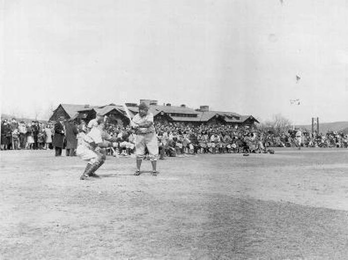 Dodgers Training Camp Is there a better place to place baseball than where the Brooklyn Dodger's once practiced during World War II?