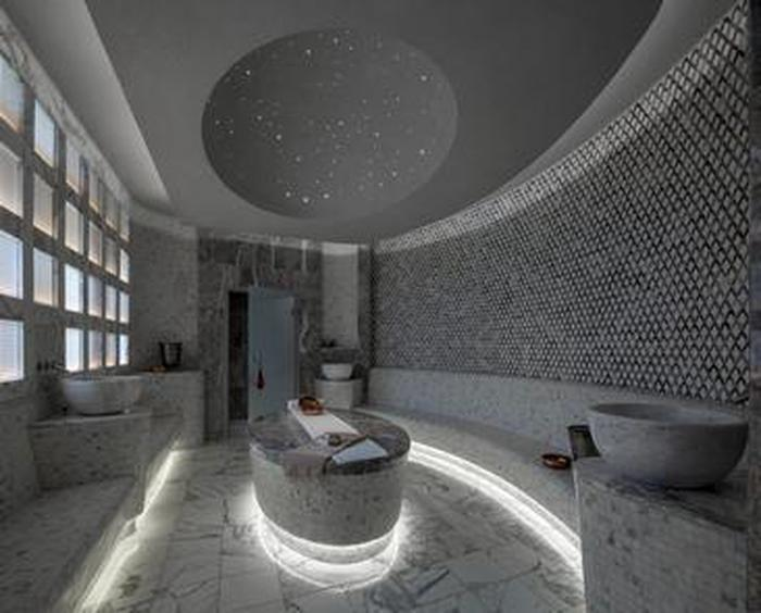 Vanderbilt SpaAmong eight different treatment rooms, guests can enjoy different experiences including The Hammam (Turkish Bath).
