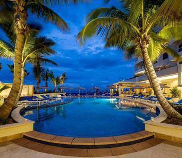 PoolThe Condado Vanderbilt beach features cabanas and chaise lounges exclusively for hotel guests.