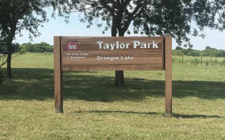 Taylor Park Entrance