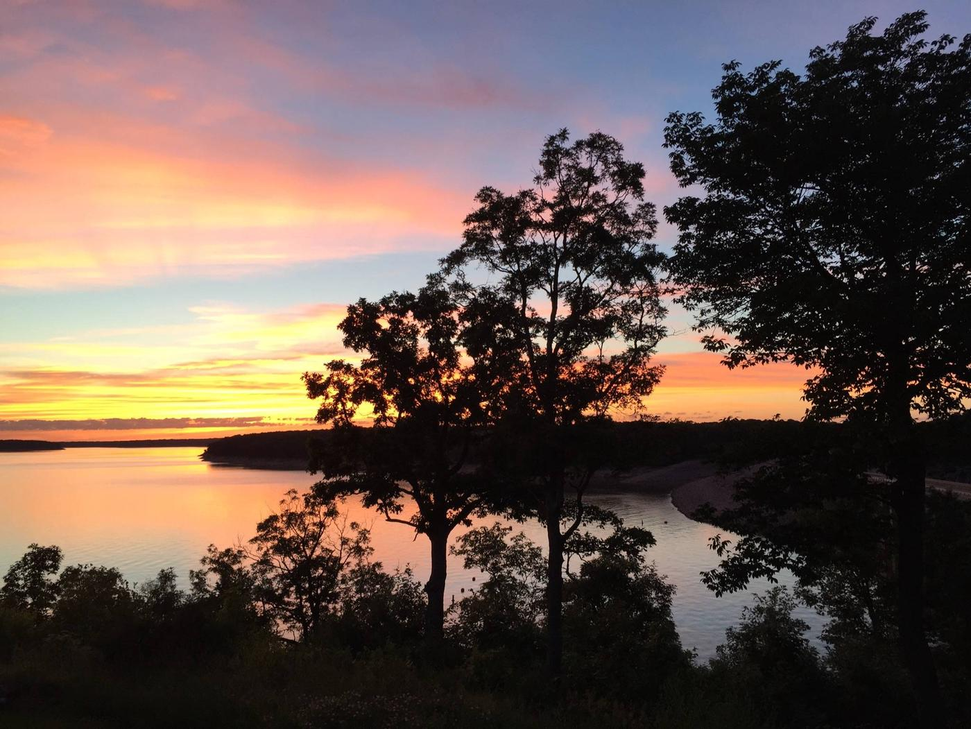 Mark Twain Lake from M. W. Boudreaux Visitor Center