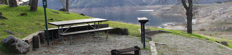 Island Park CampgroundSite #3