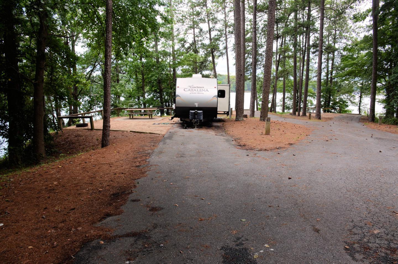 DrivewayMcKinney Campground, campsite 126