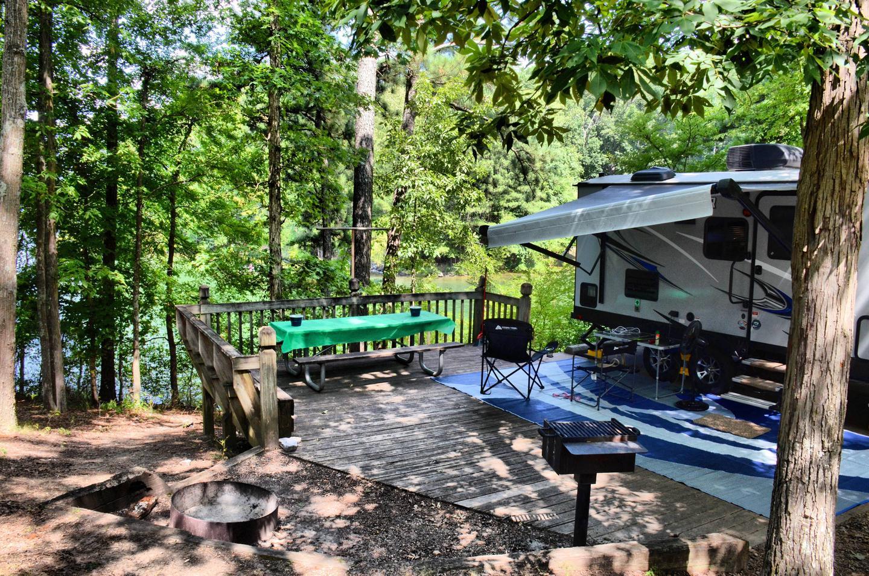 Campsite view-2McKinney Campground, campsite 109.