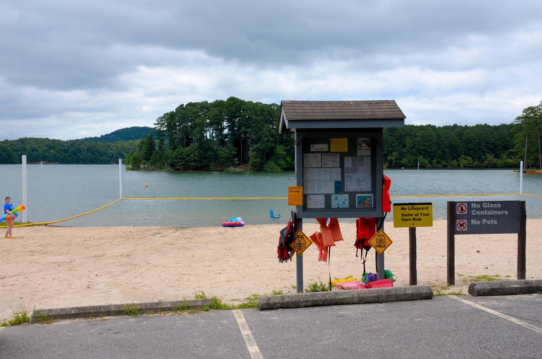 McKinney Campground Beach 2.McKinney Campground beach.