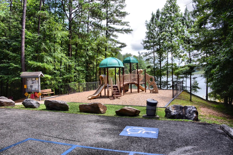 McKinney Campground Playground.McKinney Campground playground.
