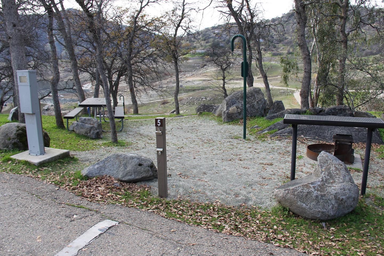 Site #5 Tent AreaSite #5