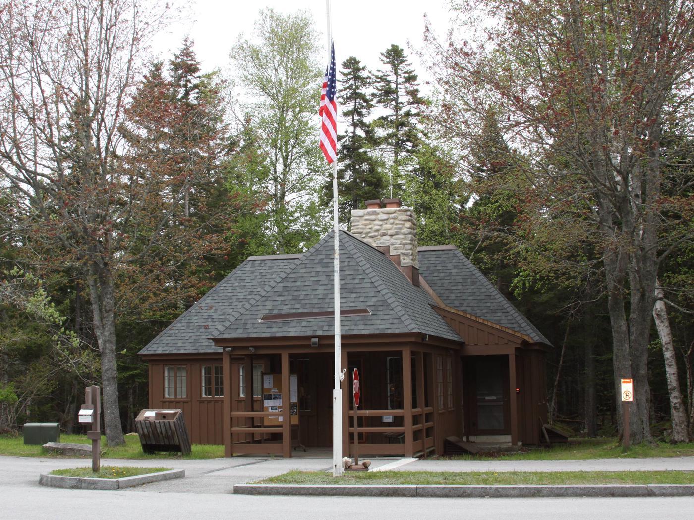 Seawall Campground Ranger Station