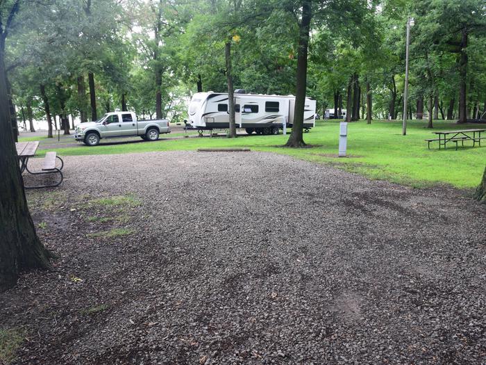 North Overlook Campsite number 1