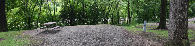 North Overlook Campsite number 8