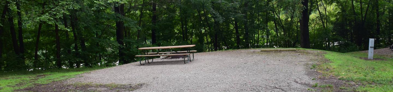 North Overlook Campsite number 10