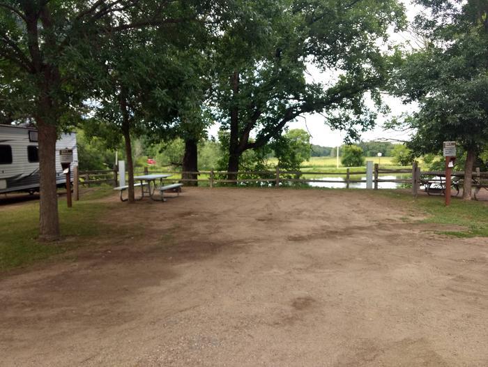 Sandy Lake - Campsite 3Sandy Lake Site 3