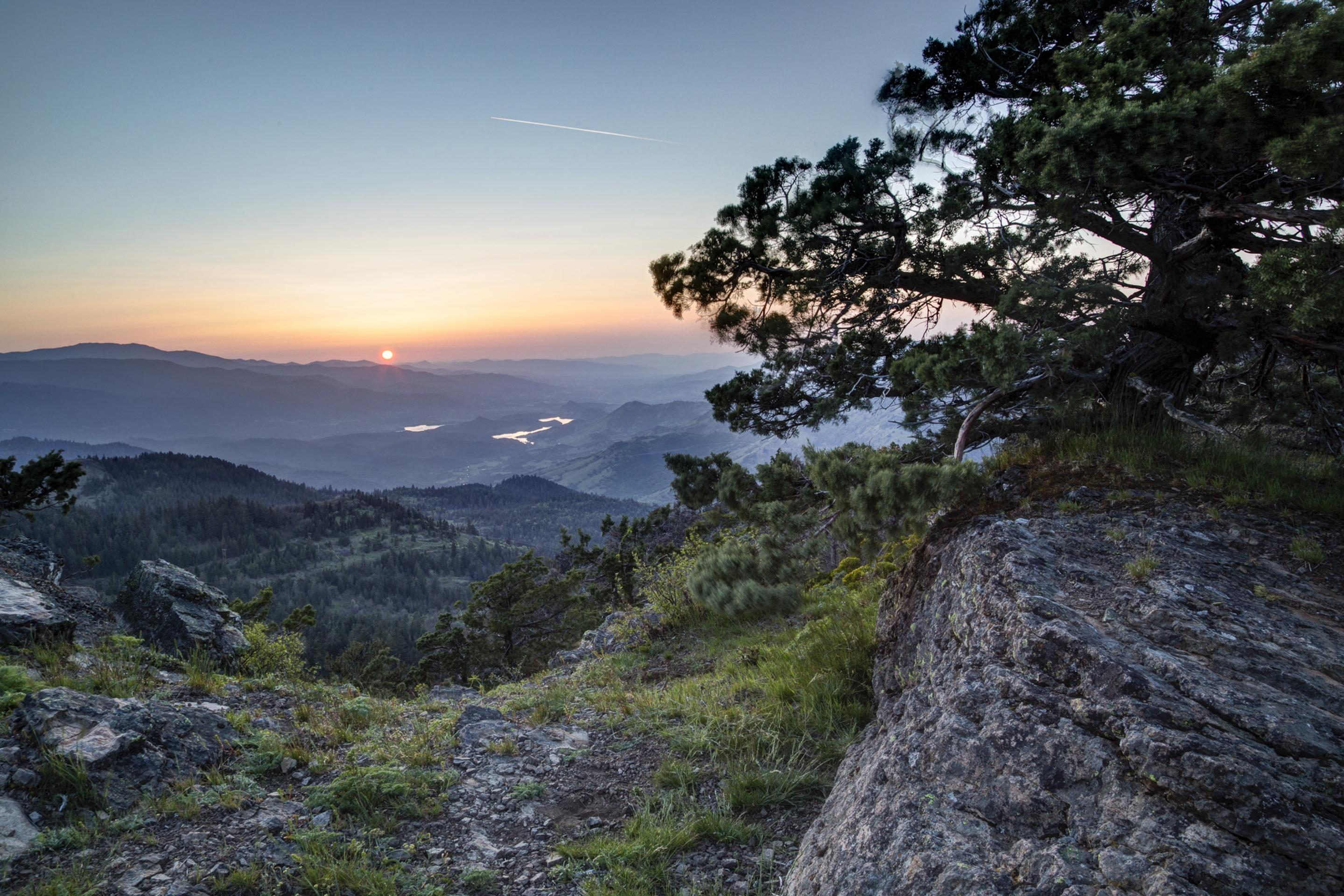 PCT views from Cascade-Siskiyou National Monument