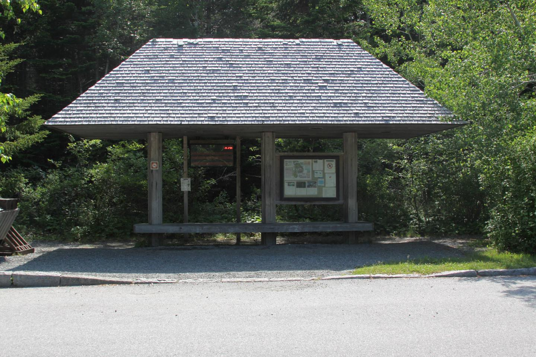 Island Explorer Bus Stop