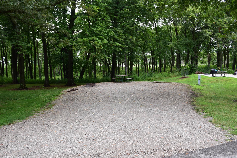 North Overlook Campsite number 19