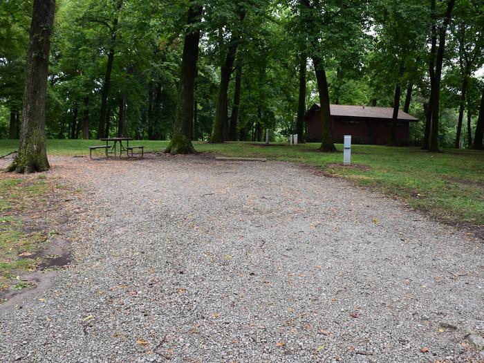 North Overlook Campsite number 20
