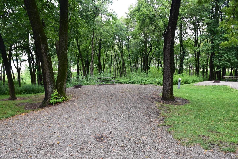 North Overlook Campsite number 21