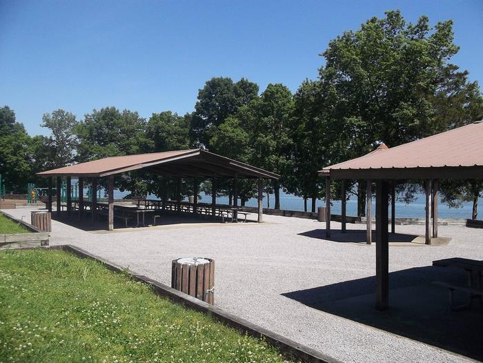 Group picnic shelterReservable group picnic shelter at Anderson Road Day Use