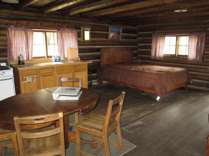 Kitchen Stolle Cabin