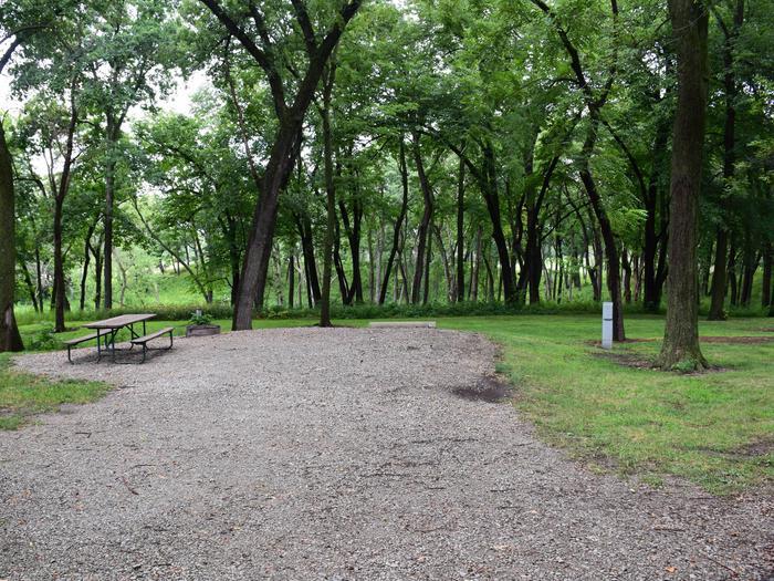North Overlook Campground Number 28