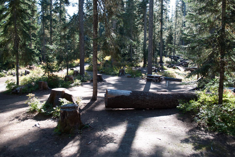 Takhlakh Lake Campsite loop