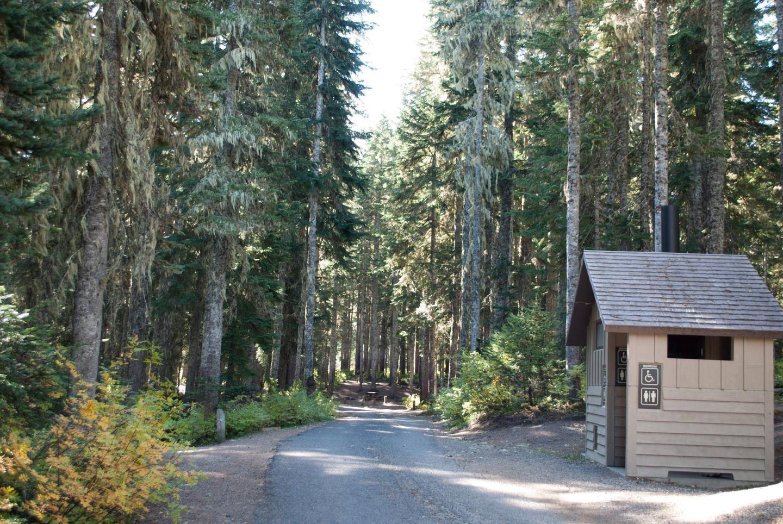 Takhlakh Lake Campground road