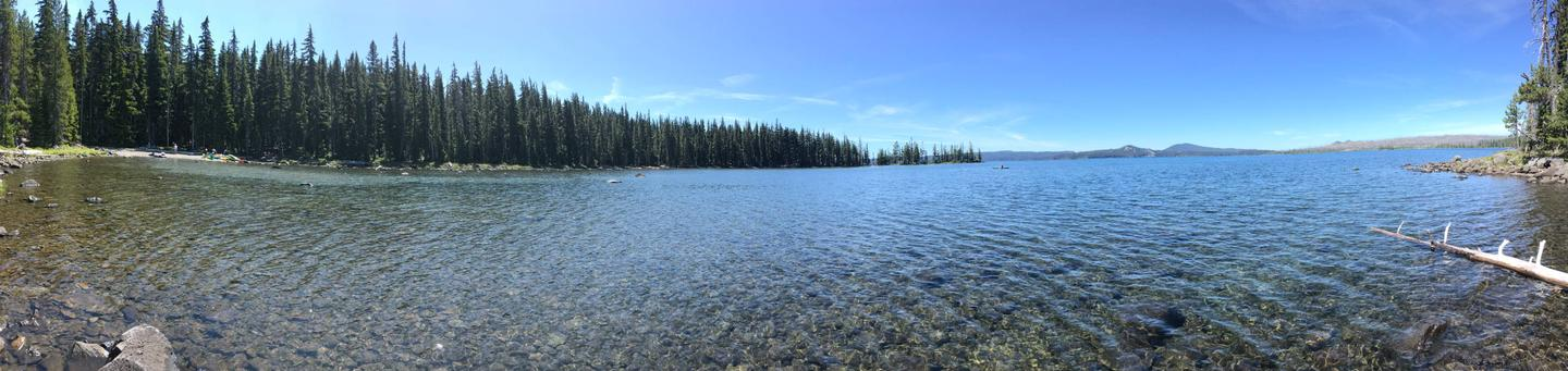 Waldo Lake near Islet Campground