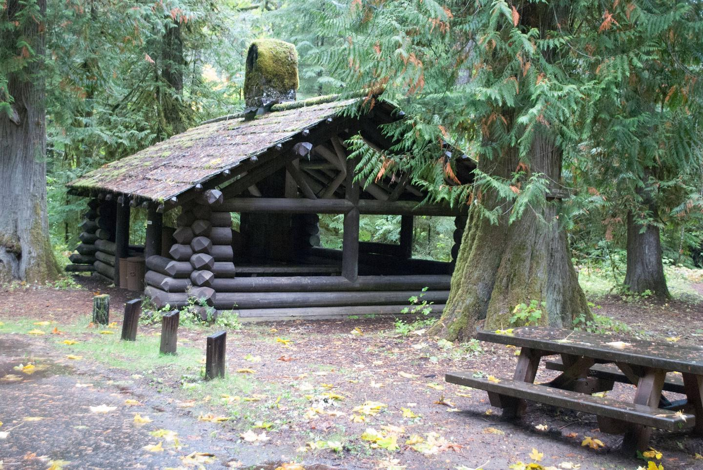 La Wis Wis picnic shelter