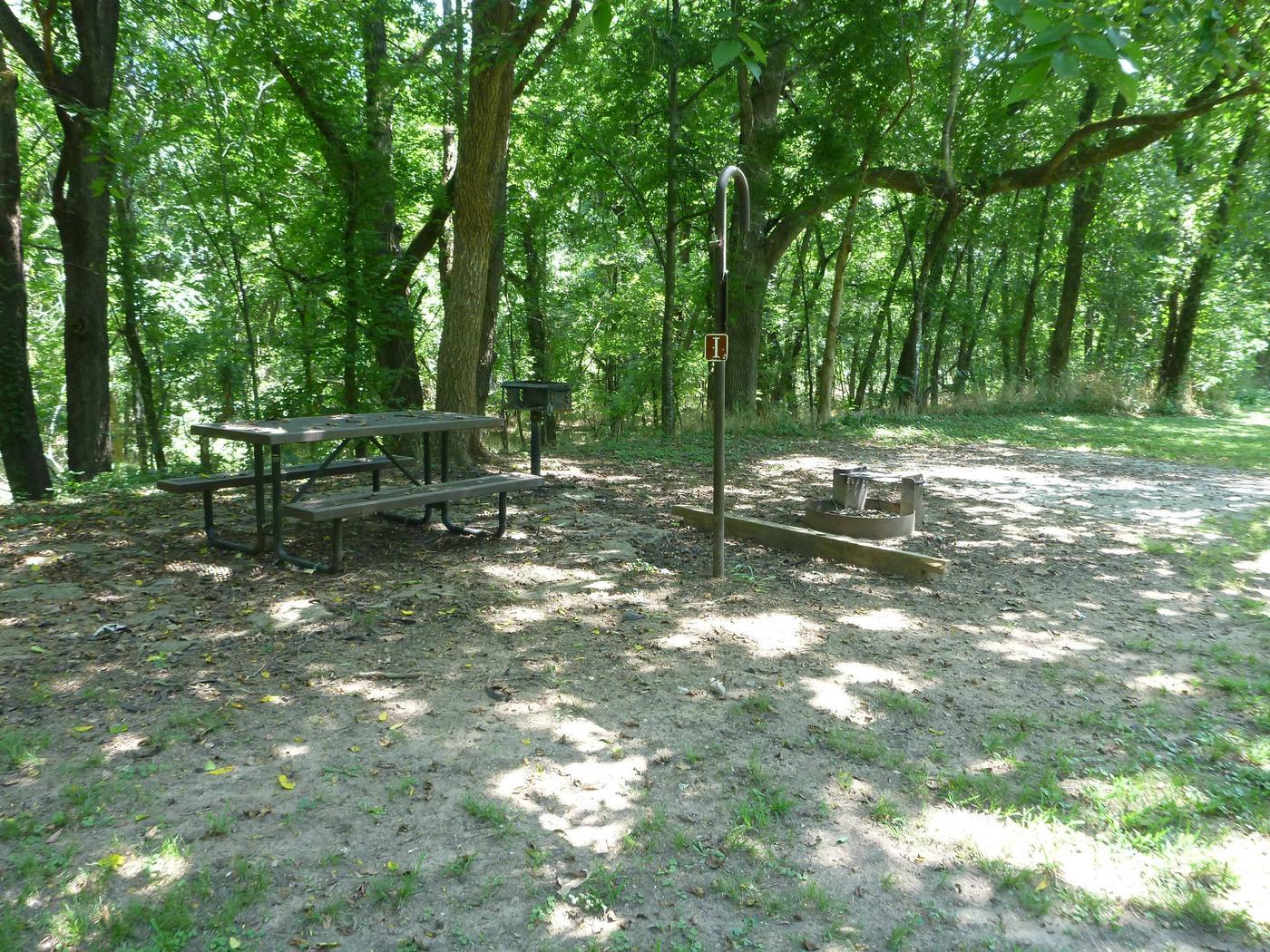 Tyler Bend Walk-in Site I-2Tyler Bend Walk-in Site I