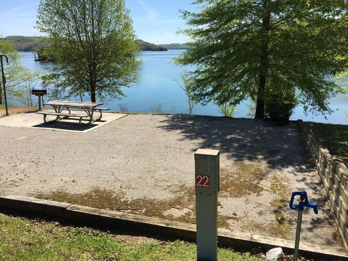 LILLYDALE CAMPGROUND SITE # 22