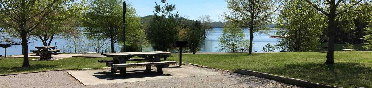 LILLYDALE CAMPGROUND SITE # 33