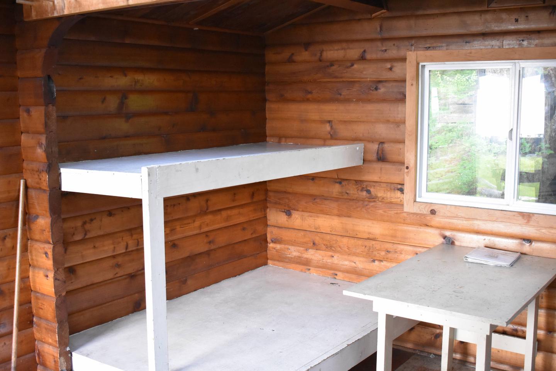 Alava Bay cabin bunk 1Bunk area 1