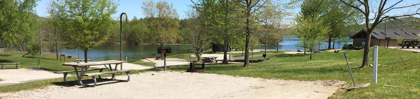 LILLYDALE CAMPGROUND SITE # 43