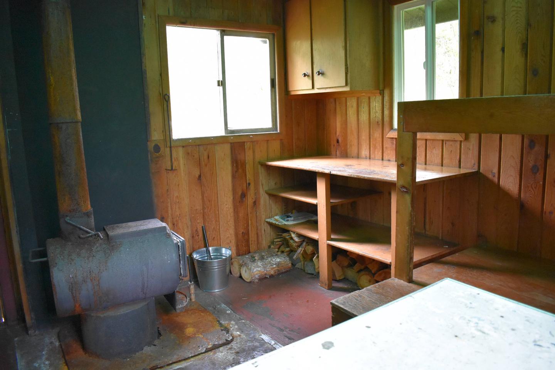 Kitchen area Kitchen area and stove