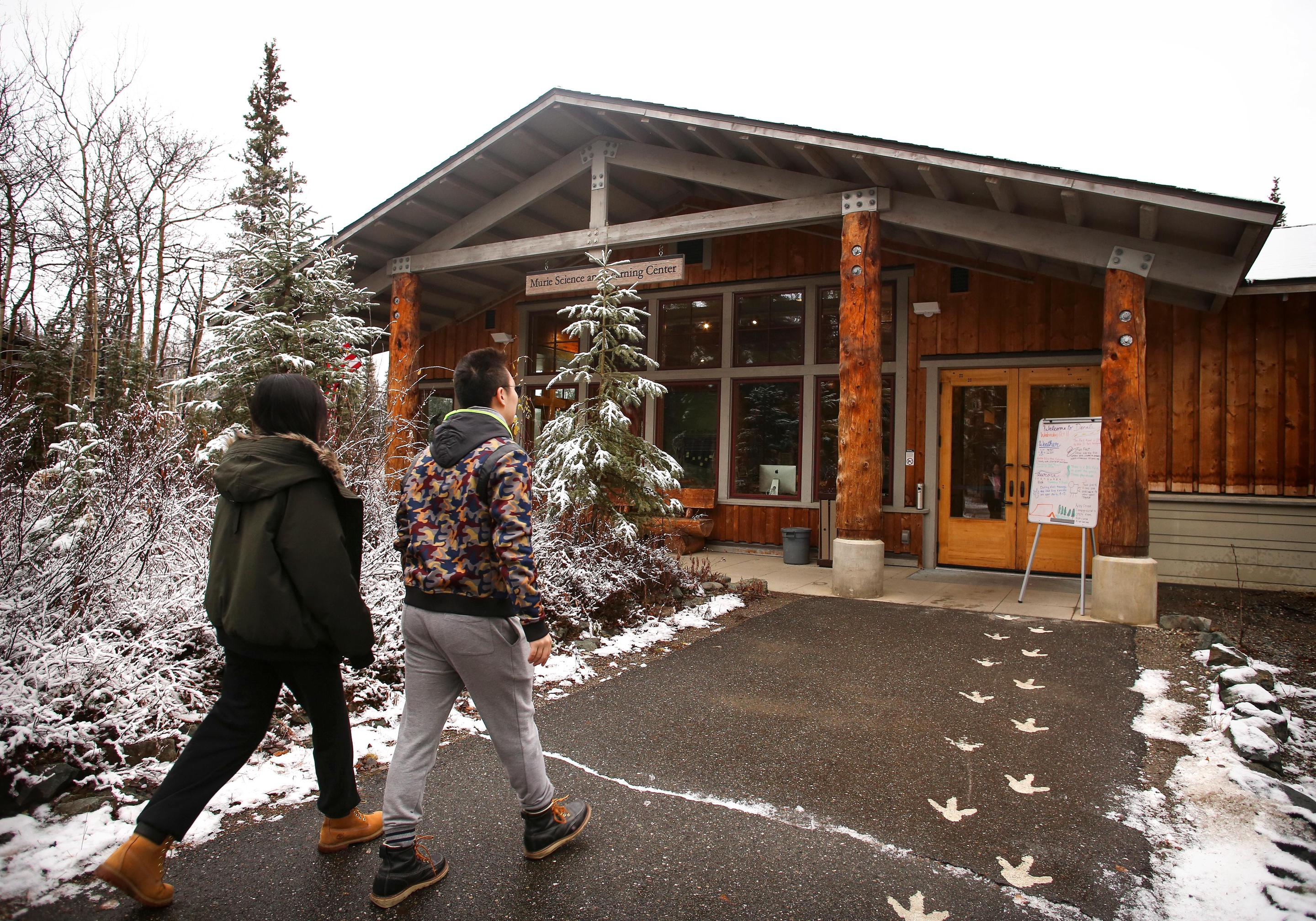 Murie Science and Learning CenterThe Murie Science and Learning Center also serves as Denali's winter-time visitor center.