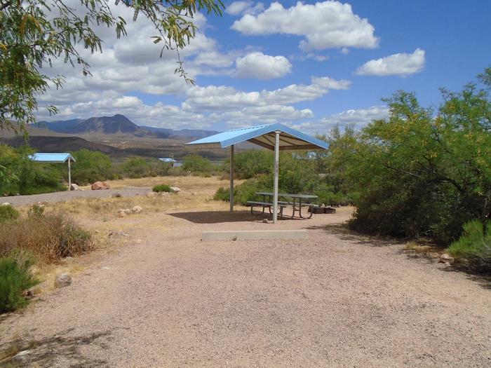 Campsite 89 at Cholla CampgroundCampsite 89, Cholla Campground