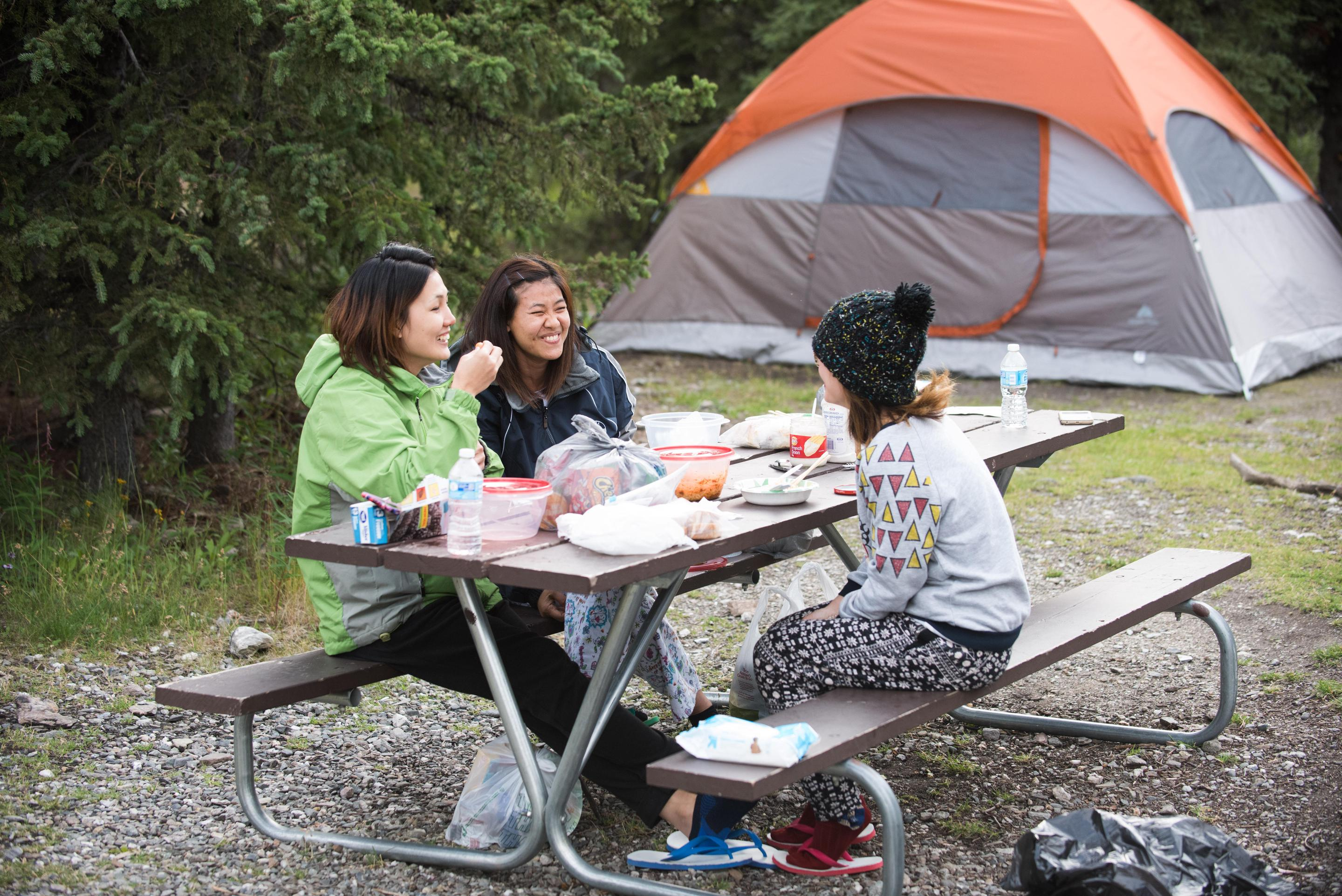 Riley Creek CampgroundRiley Creek is open to RVs and tent campers