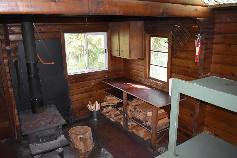 Kitchen Area with StoveKitchen area with stove