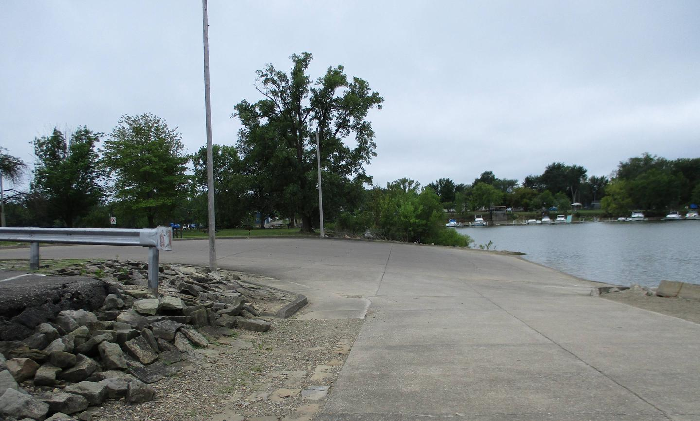 Boat Ramp at the Mill Creek Campground Boat Launch
