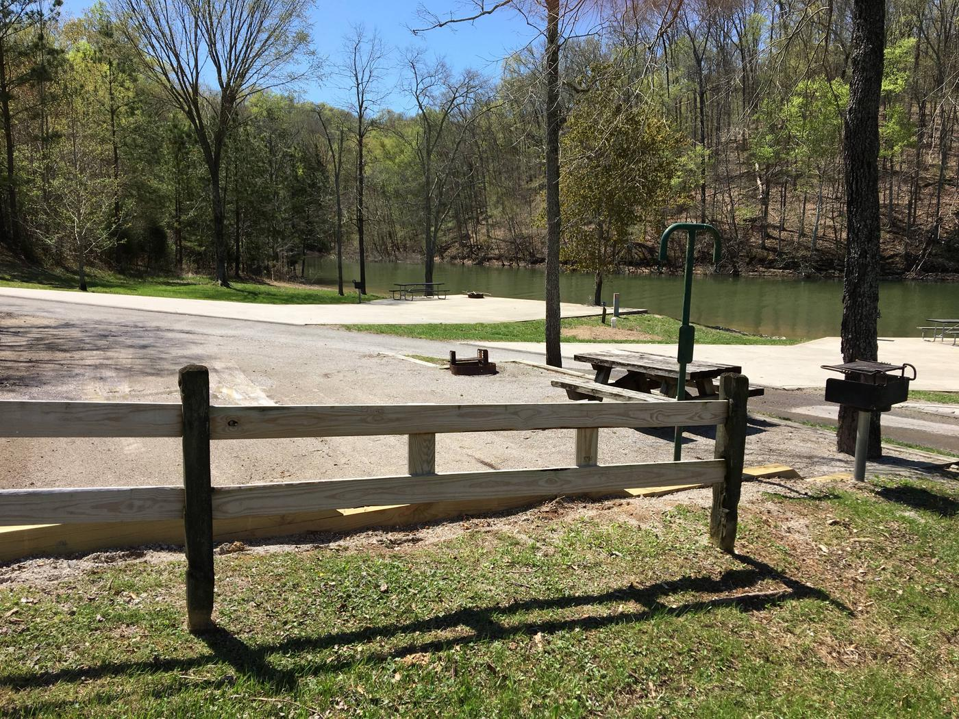LILLYDALE CAMPGROUND SITE # 74 SIDE SAFETY RAILLILLYDALE CAMPGROUND SITE # 74