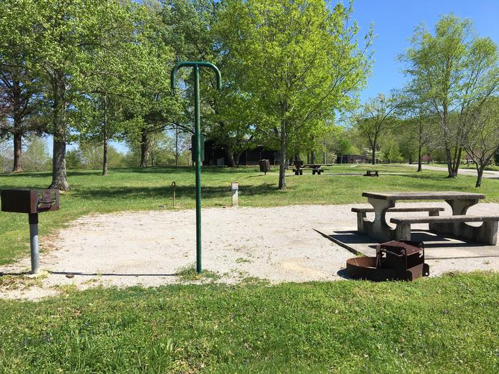 LILLYDALE CAMPGROUND SITE # 92 LIVING AREALILLYDALE CAMPGROUND SITE # 92