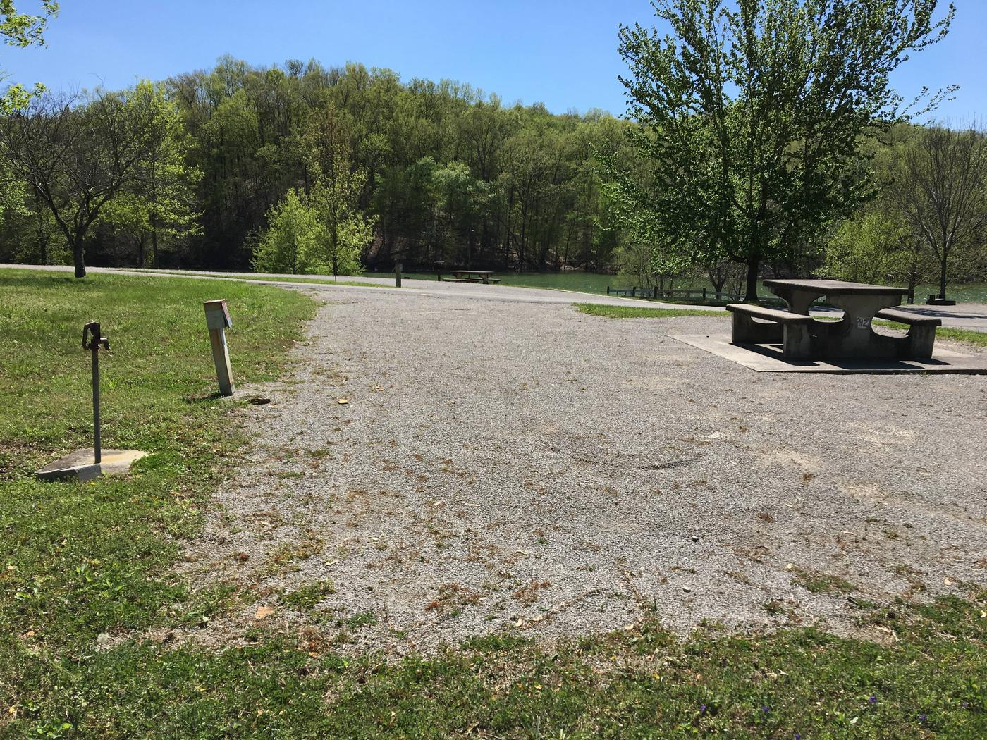 LILLYDALE CAMPGROUND SITE # 92 END VIEW LOCATION FOR RVLILLYDALE CAMPGROUND SITE # 92